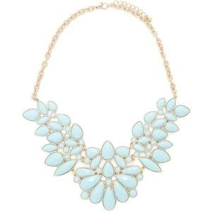 Forever 21 Turquoise Statement Necklace